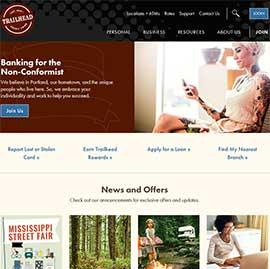 trailheadcu.org screen shot