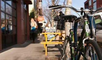 bike on Mississippi Ave